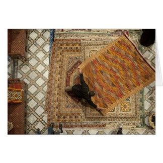 Fez rug merchant card