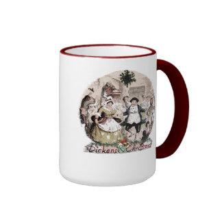 Fezziwig-Dickens y taza del navidad