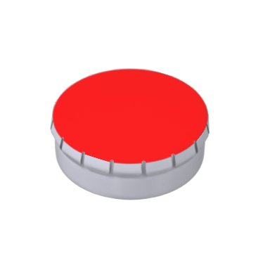 Professional Business #FF0000 Hex Code Web Color Rich Bright Red Jelly Belly Tin