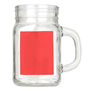 Professional Business #FF0000 Hex Code Web Color Rich Bright Red Mason Jar