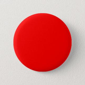 #FF0000 Hex Code Web Color Rich Bright Red Pinback Button