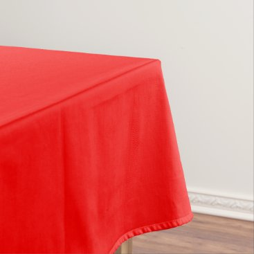 Professional Business #FF0000 Hex Code Web Color Rich Bright Red Tablecloth