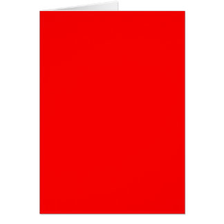 FF0000 Red Card