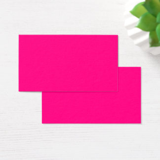 #FF0080   Hex Code Web Color  Hot Pink Business Business Card