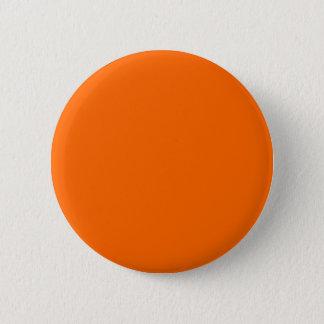 #FF6600 Hex Code Web Color Orange Pinback Button