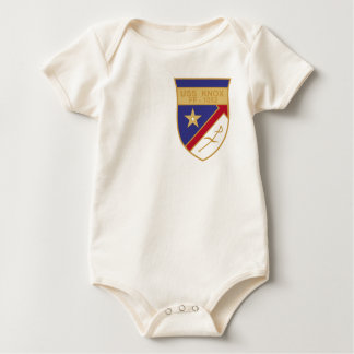 FF-1052 USS Knox Military Patch Destroyer Insignia Baby Bodysuit
