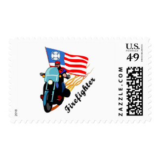 FF Bikers Postage Stamps