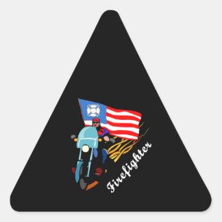 FF Bikers Triangle Sticker