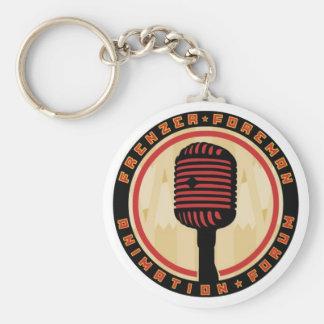 FFAF microphone keychain