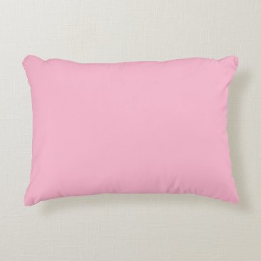 Professional Business #FFBAD2 Hex Code Web Color Light Pink Accent Pillow