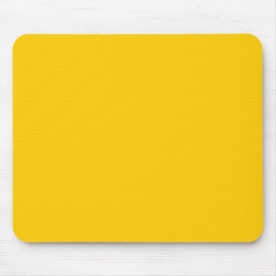 FFCC00 Gold Mouse Pad
