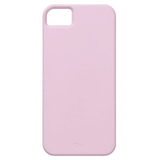 FFCCFF palidecen color sólido de la lavanda rosada iPhone 5 Cárcasas