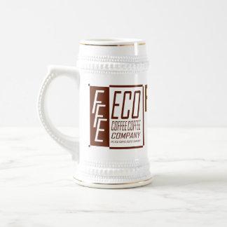 FFE ECO COFFEE COFFEE COMPANY BEER STEIN
