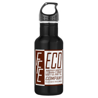 FFE ECO COFFEE COFFEE COMPANY STAINLESS STEEL WATER BOTTLE