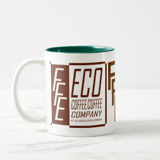 FFE ECO COFFEE COFFEE COMPANY Two-Tone COFFEE MUG