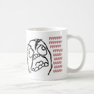 FFFFFFFUUUUUUU Rage mug