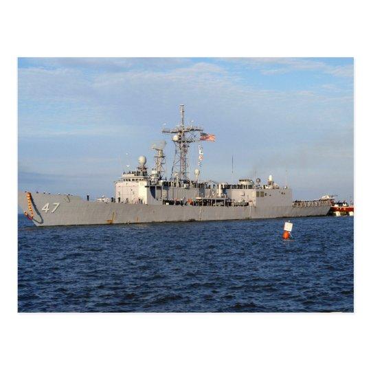 FFG 47 USS NICHOLAS POSTCARD