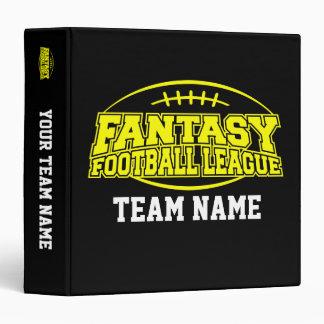 FFL Fantasy Football League Planner 3 Ring Binder
