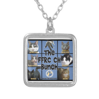 FFRC CH Bunch Silver Plated Necklace