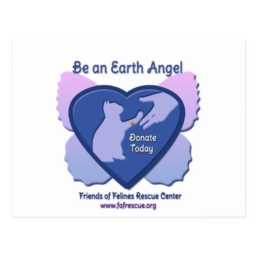 FFRC Earth Angels 2012 Postcard