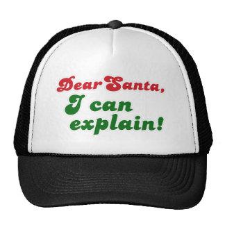 FGD - Dear Santa I can explain Mesh Hats