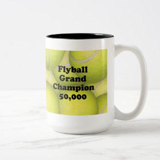 FGDCh 50K Flyball Master Champion 50K Two-tone Mug