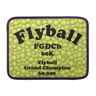 FGDCh 60 K, Flyball Grand Champ, 60,000 Points MacBook Sleeve