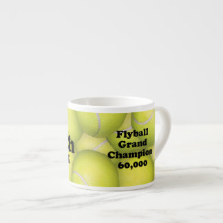 FGDCh 60K, Flyball Master Champion 60K EspressoMug 6 Oz Ceramic Espresso Cup