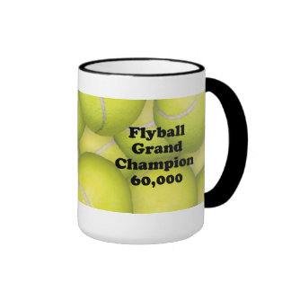 FGDCh 60K, Flyball Master Champion 60K Ringer Mug
