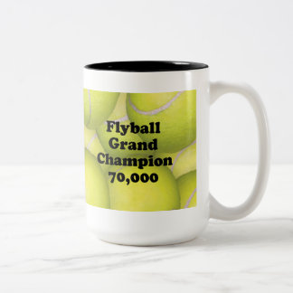 FGDCh 70K Flyball Master Champion 70K Two-tone Mug