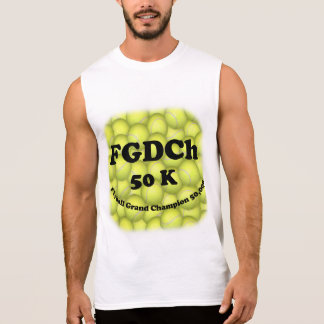FGDCh, Flyball Grand Champ, 50,000 Points Sleeveless Shirt