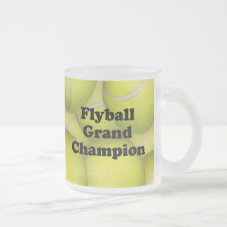 FGDCh, Flyball Grand Champion Frosted Coffee Mug