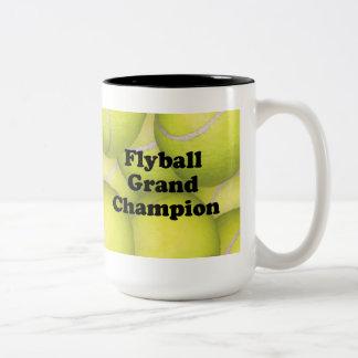 FGDCh, Flyball Grand Champion Two-tone Mug