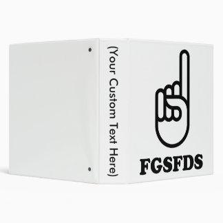 FGSFDS 3 RING BINDER