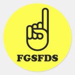 FGSFDS PEGATINAS REDONDAS