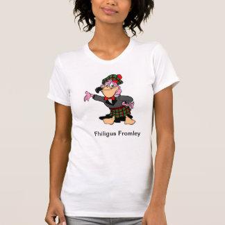 Fhiligus Fromley | Women's Classic Cartoon T-Shirt