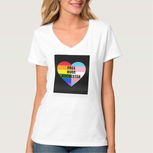 FHR V_neck T T_Shirt
