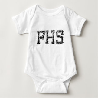 FHS High School - Vintage, Distressed Baby Bodysuit