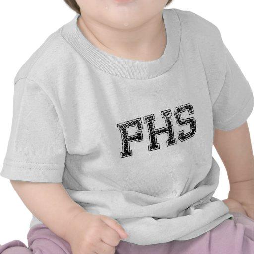 FHS High School - Vintage, Distressed Shirts