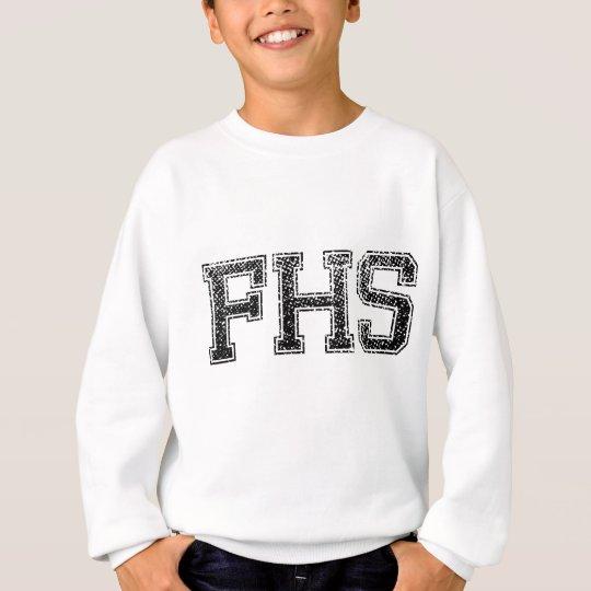 FHS High School - Vintage, Distressed Sweatshirt