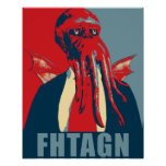 Fhtagn Posters