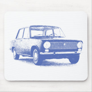 Fi124 Saloon 1966 streaked Mouse Pad