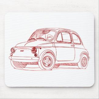 Fi500 1957 sketch mouse pad