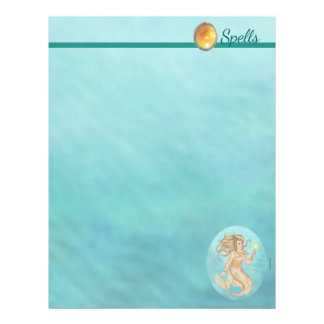Fia Mermaid Sea Queen Fantasy Spell Page