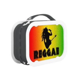 Fiambrera de Rasta Rastaman Rastafarian de la músi