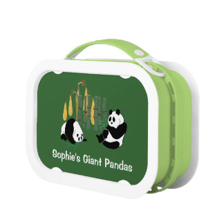 Fiambrera personal de las pandas gigantes