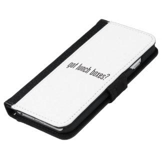 fiambreras conseguidas funda cartera para iPhone 6