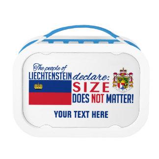 Fiambreras del personalizado de Liechtenstein