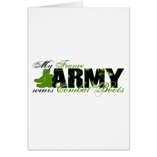 Fiance Combat Boots - ARMY Card