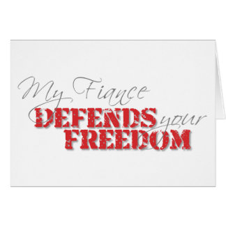 Fiance Defends Freedom Card